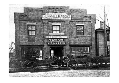 Martin Hardware 1893 Store Front