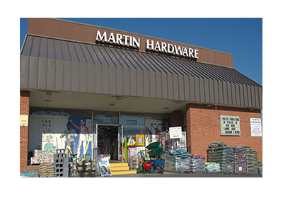 Martin Hardware 2017 Store Front